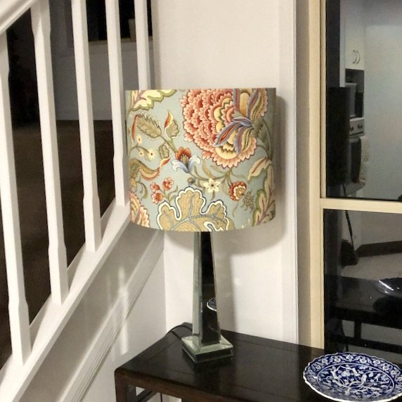 LightenUp Lampshade in client's home